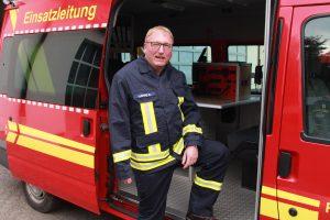 Leiter der Feuerwehr Klaus Happe