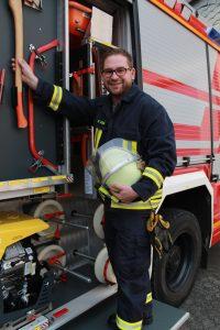 Leiter Brandschutzerziehung Daniel Hagen